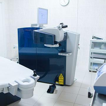 Операционная лазерной коррекции зрения