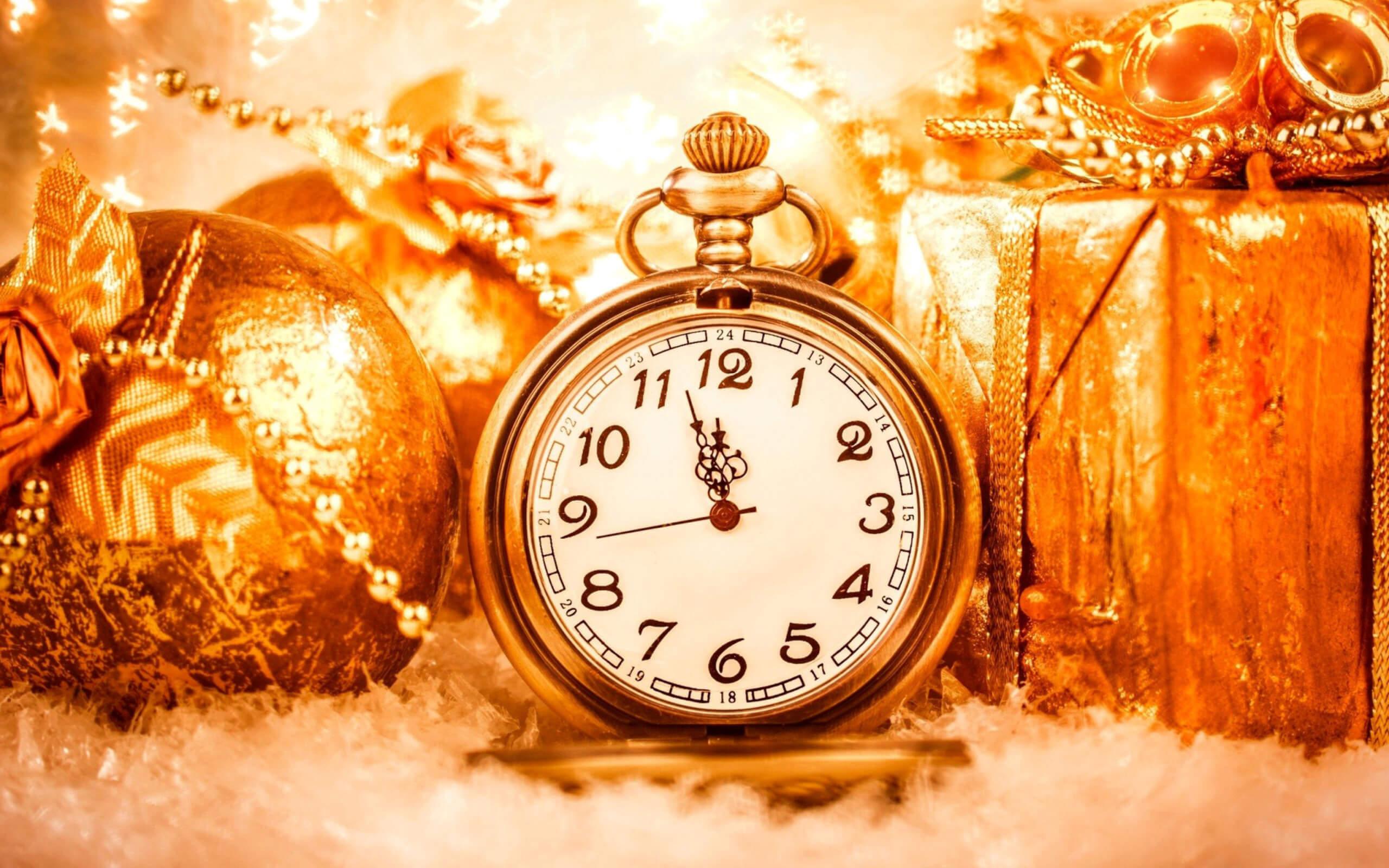 С новым годом! График работы в новогодние праздники